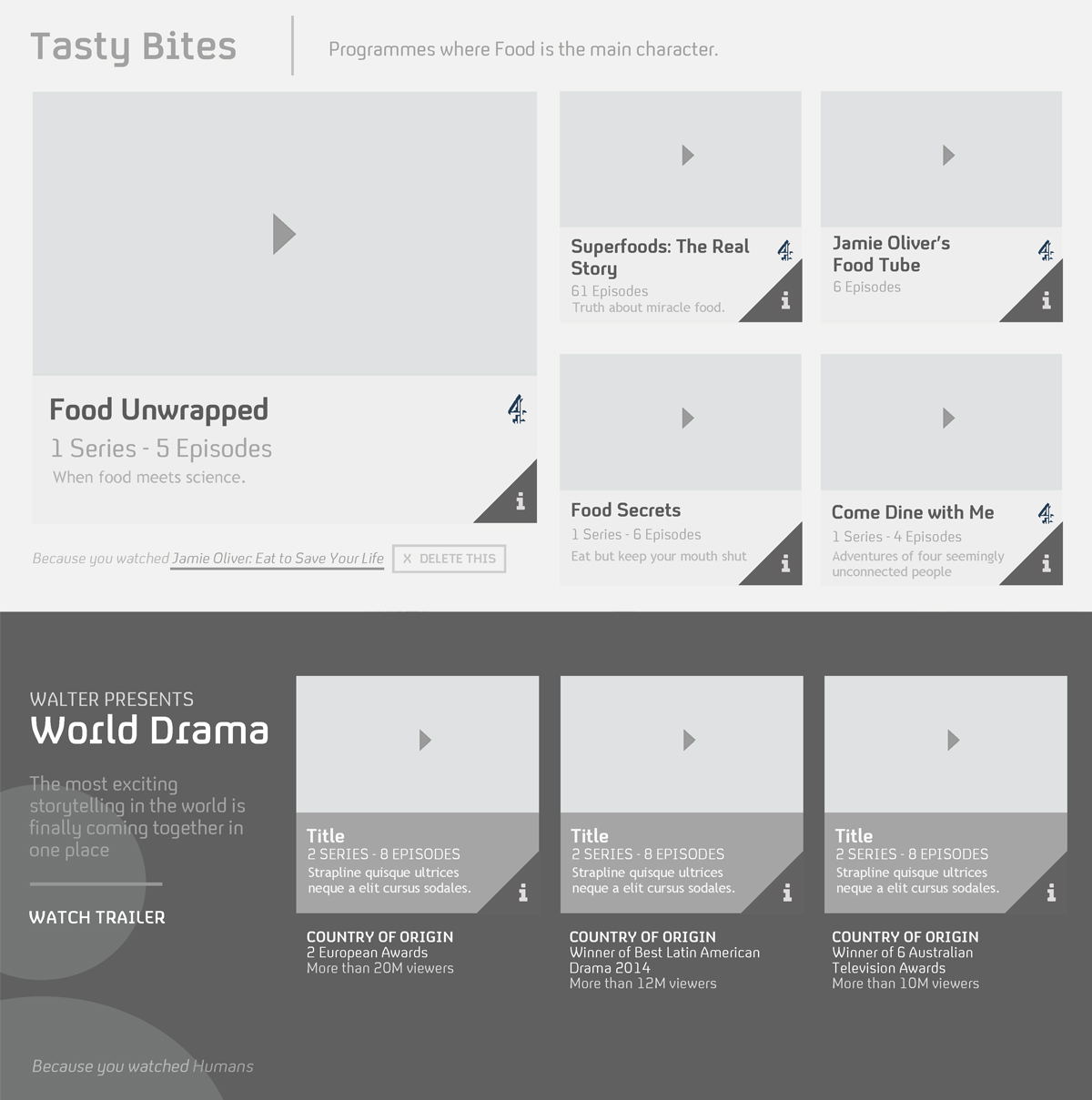 Examples of the designs made for this consultancy firm on desktop and mobile.